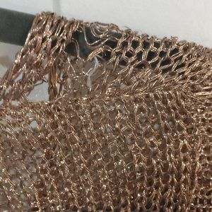 naked wardrobe Tops - ✨ 🔥 Rose Gold Chainmail Top ✨ 🔥
